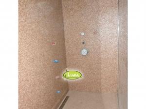 Epoxyvloer en muur in douche