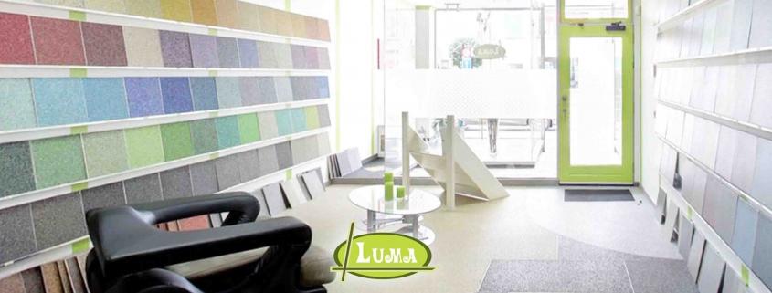 Epoxy verschillende kleuren, winkel Luma
