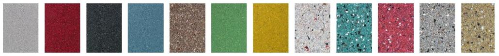 Mortelvloer kleuren