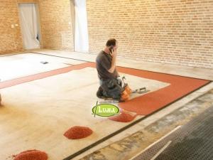 Renovatie zaal epoxyvloer