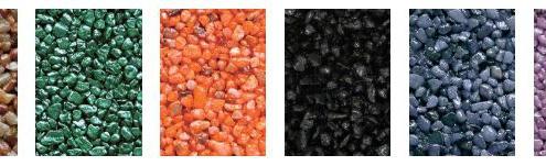 Steentapijt kleuren